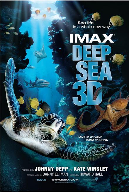 Deep sea 3d imax g